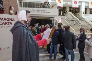 Visitors-magna-carta-unification-day-british-library-12