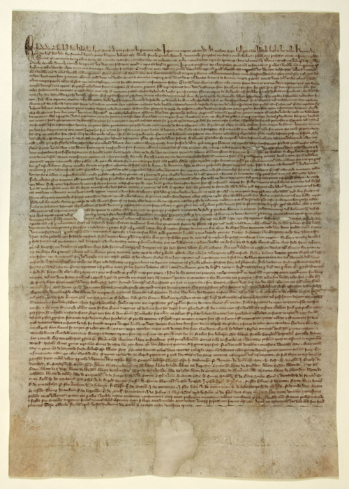 DL10-197 Duchy of Lancaster Royal Charter, Magna Carta 1297