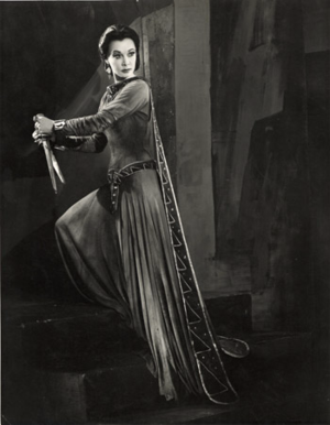 Vivien Leigh as Lady Macbeth 1955
