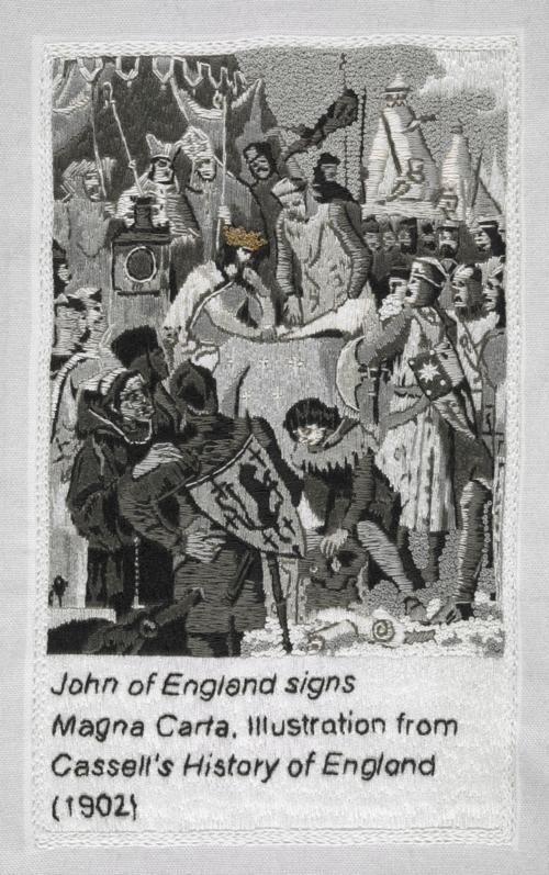 John-magna-carta-an-embroidery-cornelia-parker-british-library