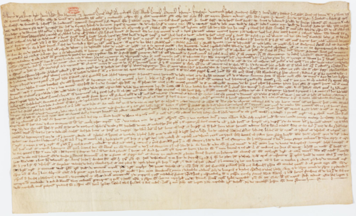 Magna Carta 1216_Archives Nationales