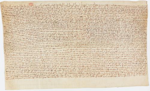 Magna Carta 1216_Archives Nationales