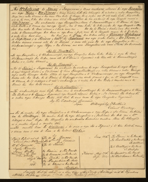 MFQ1-402 (1) Copy of Treaty of Waitangi 1840