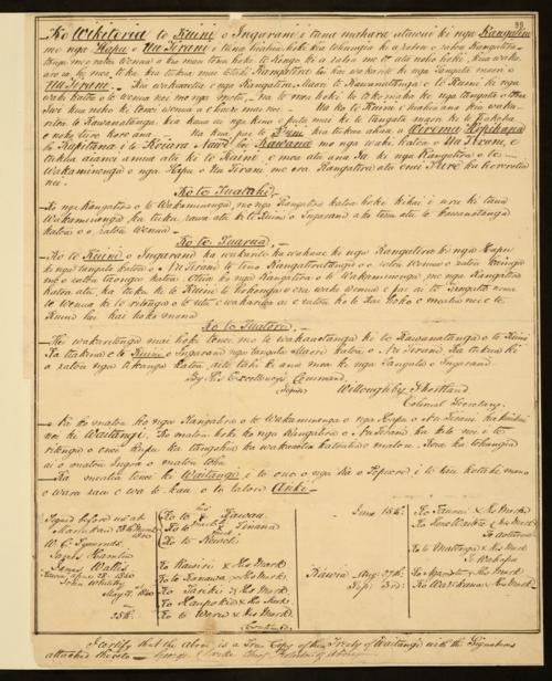 MFQ1-402 (1) Copy of Treaty of Waitangi 1840