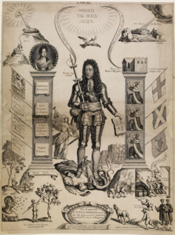 BM-Embleme of Englands Distractions 1690