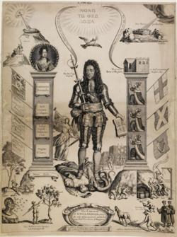 BM-Embleme of Englands Distractions 1690