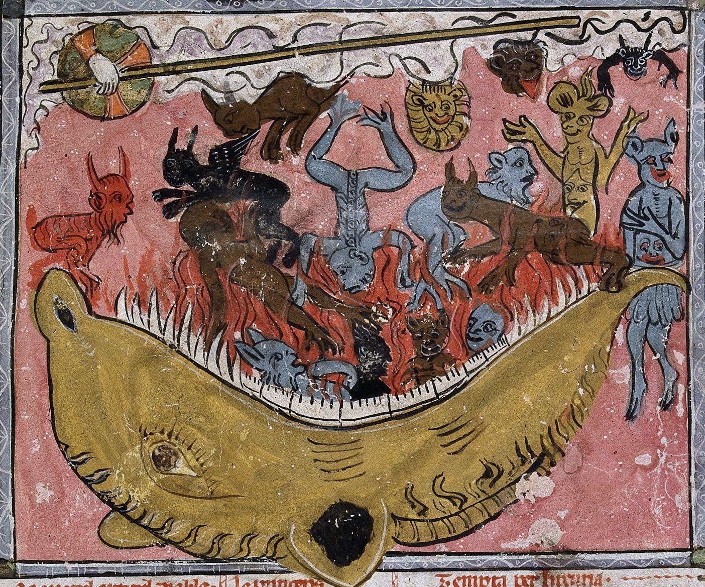 Image result for animal metamorphosis medieval manuscript