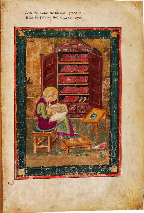 Portrait of Ezra in the Codex Amiatinus