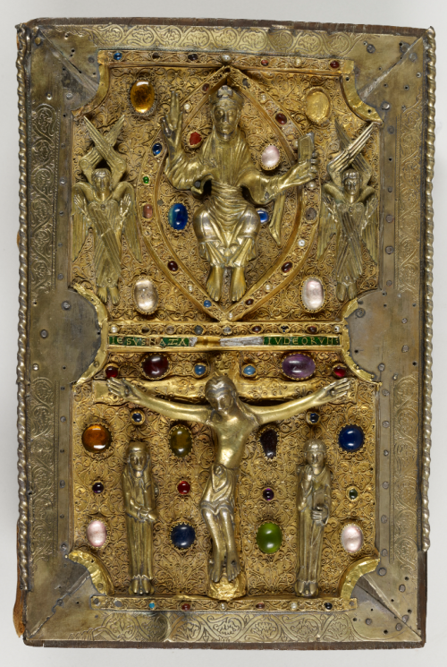 Treasure binding on the Judith of Flanders Gospels