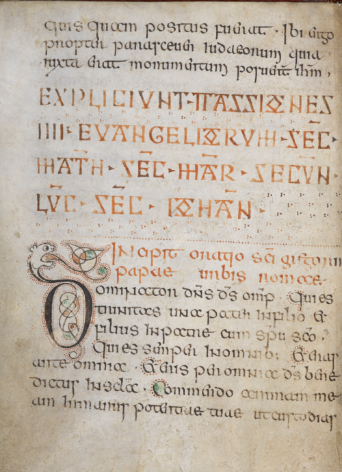 Display script in the Book of Nunnaminster